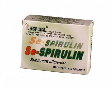 Se-Spirulin 40 compr.